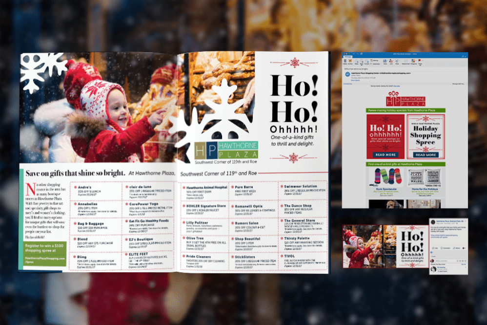 Marketing Campaign for Holidays for Hawthorne Plaza