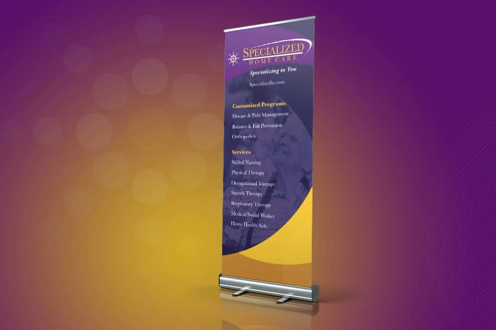 Display Banner Stand Design