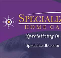 Specialized Home Care Display Banner