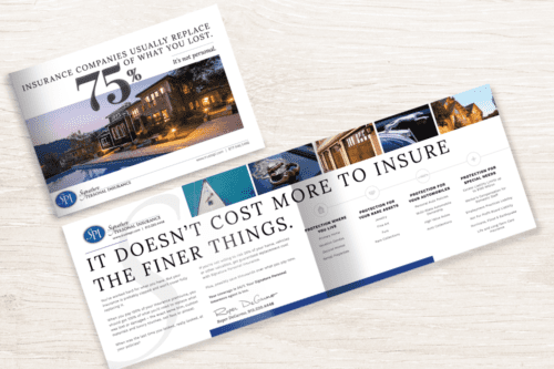 Direct Mail and Brochure Design