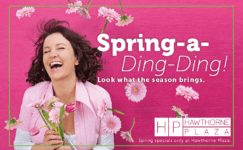 Hawthorne Plaza Spring Direct Mail